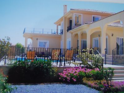 Photo for Villa with Private Pool and Beautiful Sea and Mountain Views