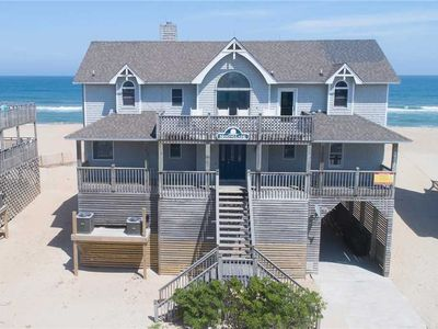 Photo for Spectacular Views! Oceanfront in Avon-Hot Tub, Game Rm, Community Pool