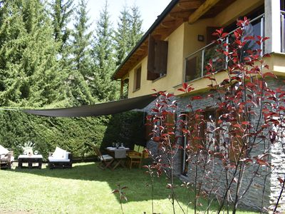 Photo for Spectacular house in La Molina (Alp) on 2 floors with private garden With WIFI
