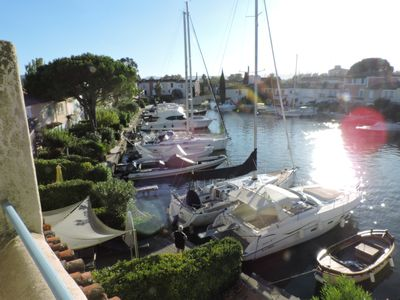 Photo for Charming Fisherman's House on the Canals of Port Grimaud Sud.
