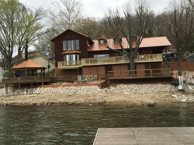 Photo for Newly Renovated 7 Bedroom Lakefront Vacation Home