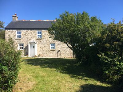 Photo for Traditional Granite detached Cornish miner's cottage nr St Ives Cornwall.