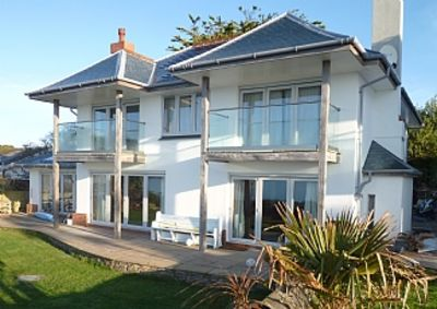 Photo for Beautiful, Luxury Beach Front Holiday Home In Falmouth, Cornwall, England