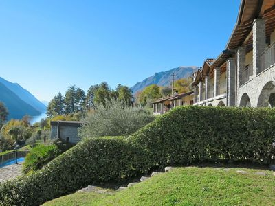 Photo for Nice apartment for 4 guests with pool, WIFI, TV, balcony, pets allowed and parking