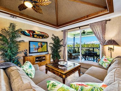 Photo for Waikoloa Beach Villas J32-LUXURY PENTHOUSE VILLA w/GOLF DISCOUNT/GOLF CLUBS!!
