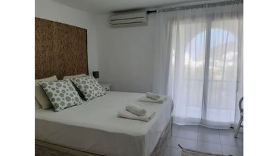 Photo for Small house near the beach with A / C, pool and Wifi