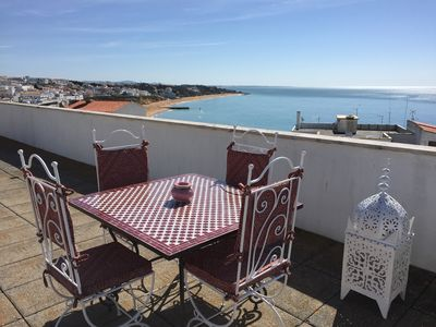 Photo for APARTMENT ALBUFEIRA ZEBRE 100 m from the Beach of PENECO