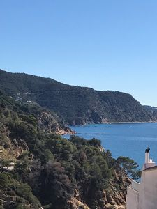 Photo for Duplex (in repair) magnificent view of the sea in Cala Salions (TOSSA de Mar
