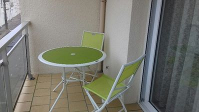 Photo for 1BR Apartment Vacation Rental in Fort-Mahon-Plage