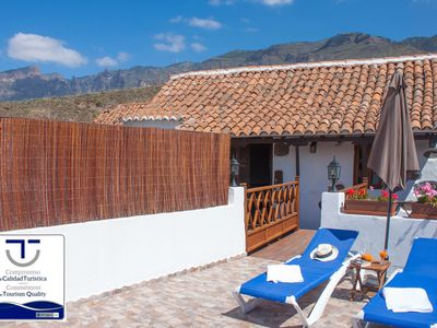Photo for Holiday cottage in Santa Lucia town