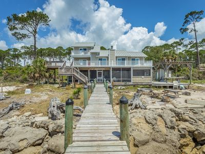 Photo for Fish A Pier Here!  Lovely home on the Bay with a Dock for your boat!