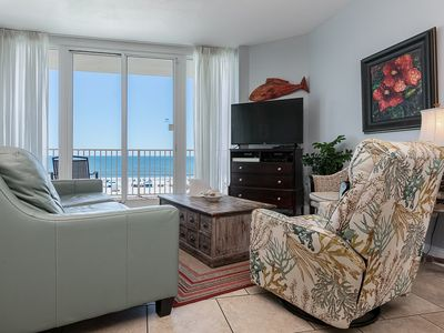 Photo for The Beach is Calling! 3 Bedroom 3 Bath Condo only footsteps from white sands.