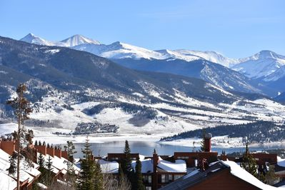 Wow!  This is the view from our front window and deck.