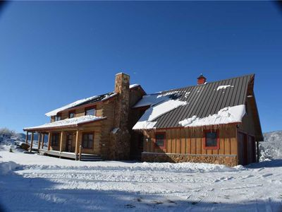 Photo for Rocky Mountain Way: 3 BR / 3.5 BA house/cabin in Pagosa Springs, Sleeps 10