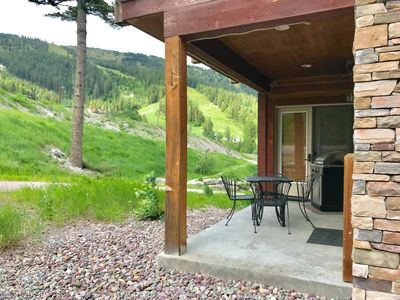 Photo for Luxury Main-Level Condo...Patio, Views, Hottub!  35 min to Glacier Park!