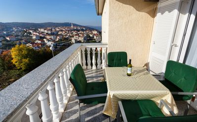 Photo for Holiday apartment with view to the old town