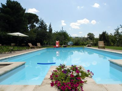 Photo for Apartment with pool in Viterbo