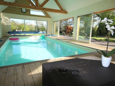 Photo for Large family villa with indoor pool near Deauville