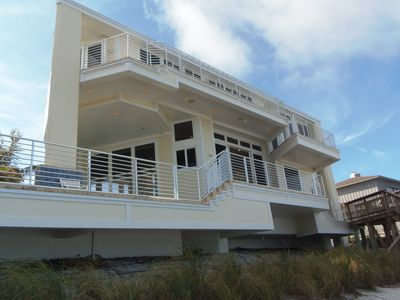 Ocean Side of the House