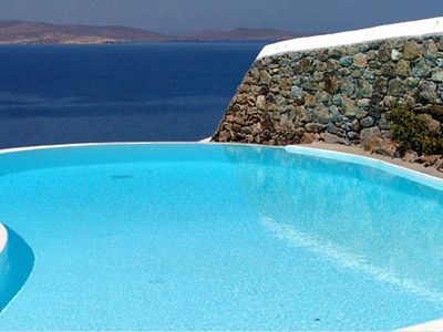Photo for Delos View in Mykonos, with panoramic views, private pool, 3 bedrooms, it can host up to 10 guests