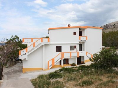 Photo for Apartment in Metajna (Pag), capacity 2+2