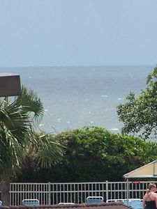 Photo for Oceanview Condo - overlooking pool and 100 yards to beach
