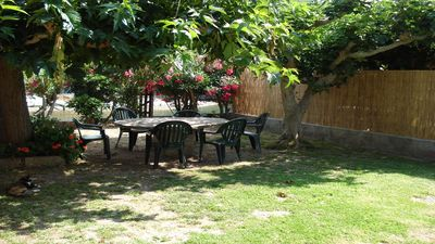 Private garden of the Ground floor Maison Rose apartment