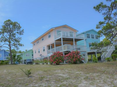 Photo for Beaches and Dreams- 2/2.5 gulf view, pet friendly, WIFI, outdoor patio w/fire pit!