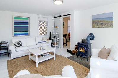 Living Room - Welcome to Provincetown! This inviting home is professionally managed by TurnKey Vacation Rentals.