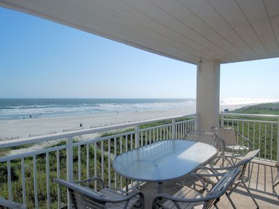Photo for Spacious Oceanfront 3 bed/3 bath Condo in Cherry Grove!