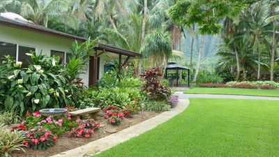 Lovely garden outside your unit