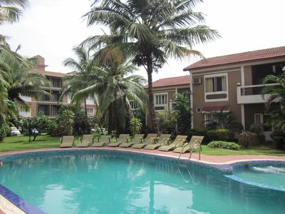 Photo for BEAUTIFUL ONE BEDROOM , POOL FACING  WITH SHARED POOL IN GATED RESORT