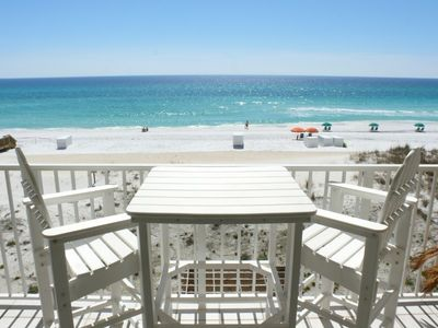 Balcony (View South) - Relax with the amazing view of the Gulf of Mexico.