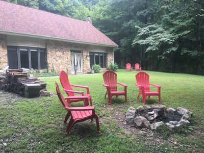 5 acres of land with several thousand public acres directly behind the Cottage.
