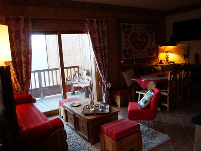 Photo for Luxury apartment chalet - Savoy - Les Saisies - Bisanne sector