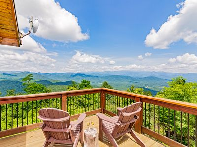 Photo for Breathtaking Views of 7 Mountain Ranges  - Close to Asheville