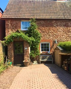 Photo for Annies Cottage:  Beautiful red stone cottage in the heart of Somerset