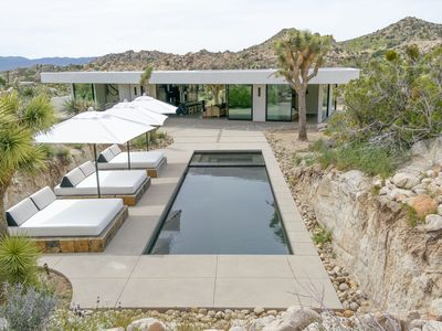 Photo for New Listing | Modern Private Home with Pool/Spa near Joshua Tree