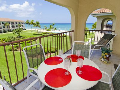 Photo for Incredible Top Floor Ocean View on 7 mile beach, Best Condo Best Price