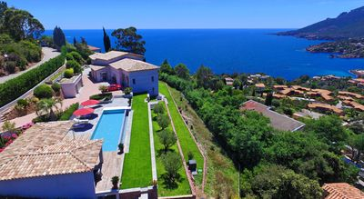 Photo for Luxury modern villa with sea view