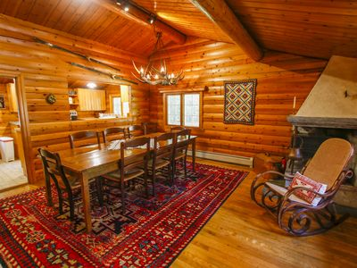 Photo for Authentic Norwegian Log Home minutes from Sugarbush