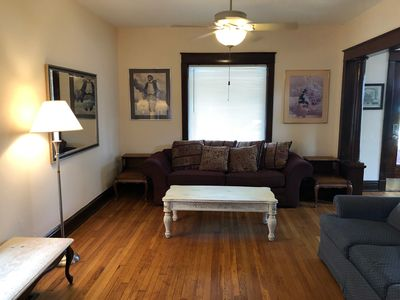 Photo for Walk to Downtown, Large House Unique, Fun, and Comfortable!
