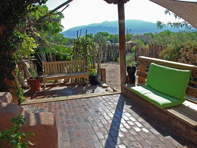 Photo for Charming Adobe Hacienda with Views in Corrales, 30 % off for long term rent