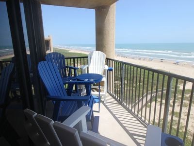 Photo for Beachfront 3BR Condo, Top Floor, Corner Unit, Awesome View