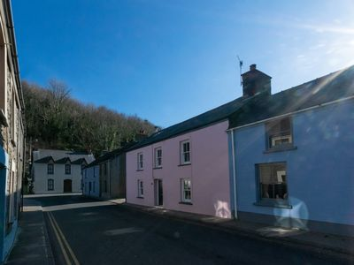 Photo for Located in lower town in Fishguard this holiday cottage has been stylishly renovated and includes 2