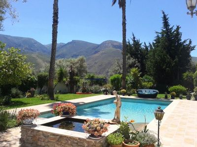 Photo for A very special and private place near Orgiva, amazing pool, Sierra & Lujar views