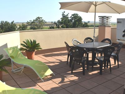 Photo for Ideal apartment for your holidays in the Delta del Ebro.