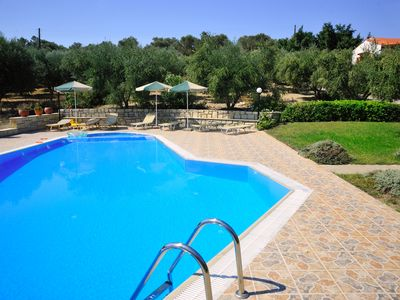 Photo for Lefkothea Villas, Ideal for Groups! Private pool, near the sea!