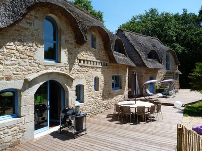 Photo for Beautiful contemporary cottage in Carnac 21 persons