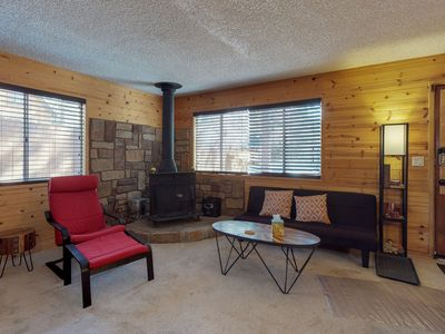 Photo for NEW LISTING! Cozy mountain cabin close to water adventures, skiing